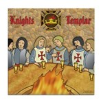 Tales From the Knights Templar Tile Coaster