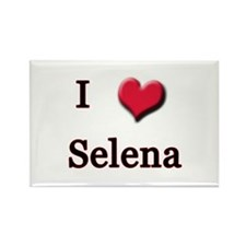 I Love (Heart) Selena Rectangle Magnet
