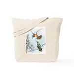 Rufous Hummingbirds Tote Bag