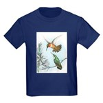Rufous Hummingbirds Kids Dark T-Shirt