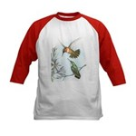 Rufous Hummingbirds Kids Baseball Jersey