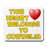 This Heart: Cordelia (D) Mousepad