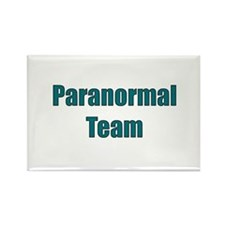 Paranormal Team Rectangle Magnet