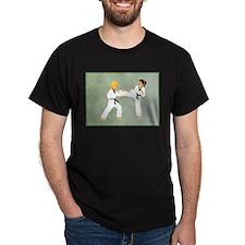 2girls fighting T-Shirt