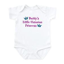 Daddy's Little Ukrainian Princess Infant Bodysuit