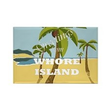 Whore Island Rectangle Magnet (10 pack)