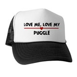 Love My Puggle Trucker Hat