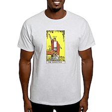 Tarot Magician Ash Grey T-Shirt