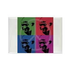 Mahatma Gandhi Rectangle Magnet