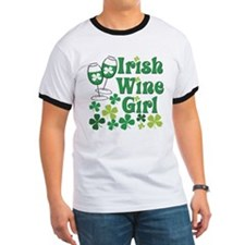 Irish Wine Girl T
