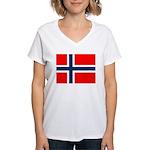 Norway Women's V-Neck T-Shirt