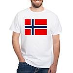 Norway White T-Shirt