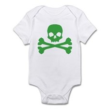 Green Pirate Infant Bodysuit