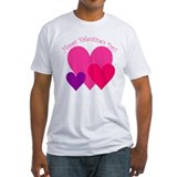 Valentine's Day Hearts Trio Shirt