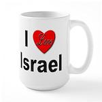 I Love Israel for Israel Lovers Large Mug