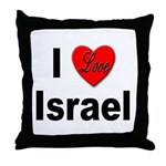 I Love Israel for Israel Lovers Throw Pillow