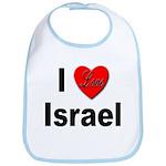 I Love Israel for Israel Lovers Bib