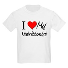 I Heart My Nutritionist T-Shirt