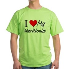 I Heart My Nutritionist T-Shirt