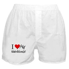I Heart My Nutritionist Boxer Shorts