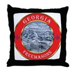 Georgia Masons Throw Pillow