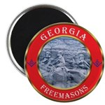 Georgia Masons Magnet