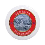 Georgia Masons Ornament (Round)