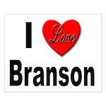I Love Branson Missouri Small Poster