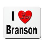 I Love Branson Missouri Mousepad