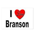 I Love Branson Missouri Postcards (Package of 8)