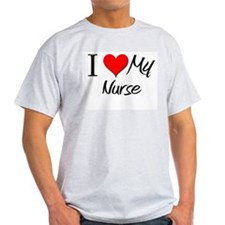 I Heart My Nurse T-Shirt