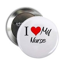 "I Heart My Nurse 2.25"" Button (10 pack)"