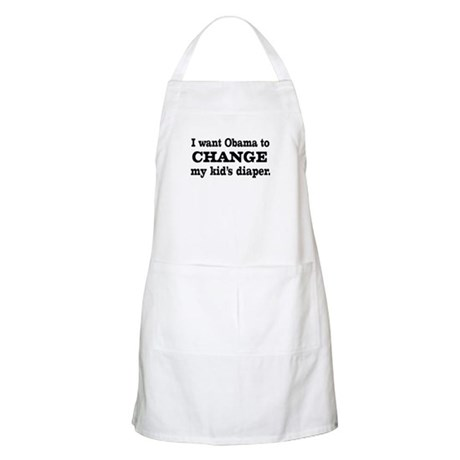 Funny Anti-Obama T-shirts BBQ Apron