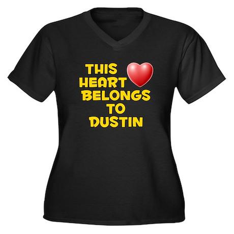 This Heart: Dustin (D) Women's Plus Size V-Neck Da