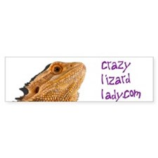 beardie head with shadow Bumper Bumper Sticker