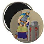 KT With Sword Magnet