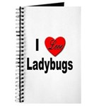 I Love Ladybugs for Insect Lovers Journal