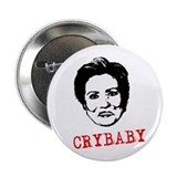 "Hillary Crybaby 2.25"" Button"