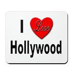 I Love Hollywood Mousepad
