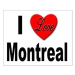 I Love Montreal Quebec Small Poster