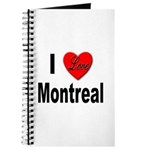 I Love Montreal Quebec Journal