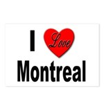 I Love Montreal Quebec Postcards (Package of 8)