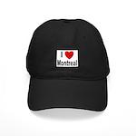 I Love Montreal Quebec Black Cap