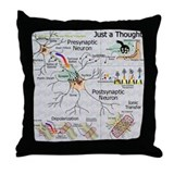 Neural Synapse  Throw Pillow