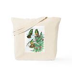 Buff-bellied Hummingbirds Tote Bag