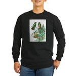 Buff-bellied Hummingbirds Long Sleeve Dark T-Shirt