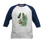 Buff-bellied Hummingbirds Kids Baseball Jersey