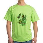 Buff-bellied Hummingbirds Green T-Shirt