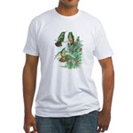 Buff-bellied Hummingbirds Fitted T-Shirt