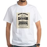 Tombstone Saloon White T-Shirt